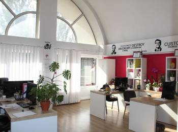 Oficii în chirie de la 17.5 m2! Centru! 8,50 euro/m2 !
