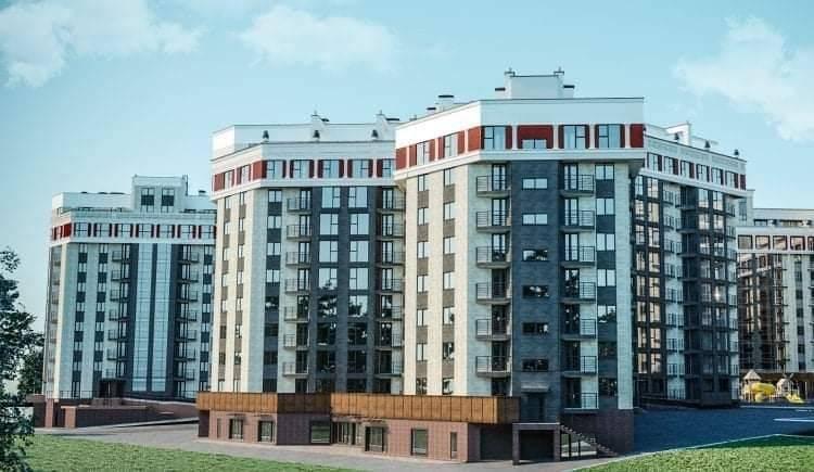 Boiar House, Durlești, apartament 1 cameră 46 m2. Preț 480 € mp.