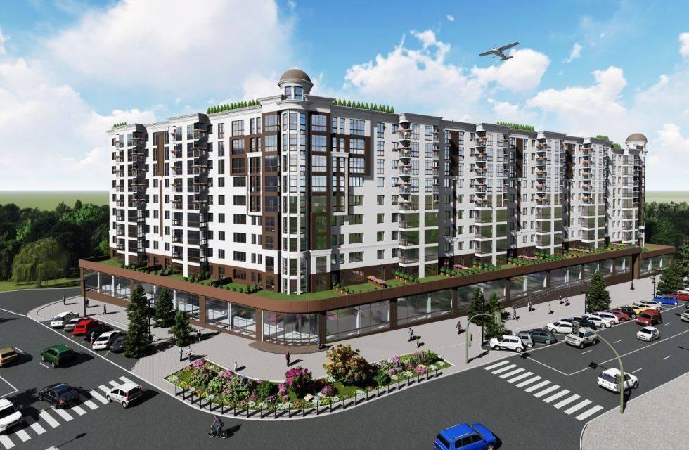 "Apartamente GATA  noi in constructie Buicani ""Green Park Residence"""