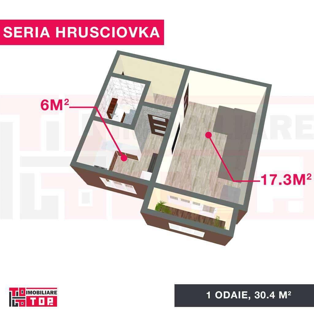 Seria Hrușciovka1 odaie