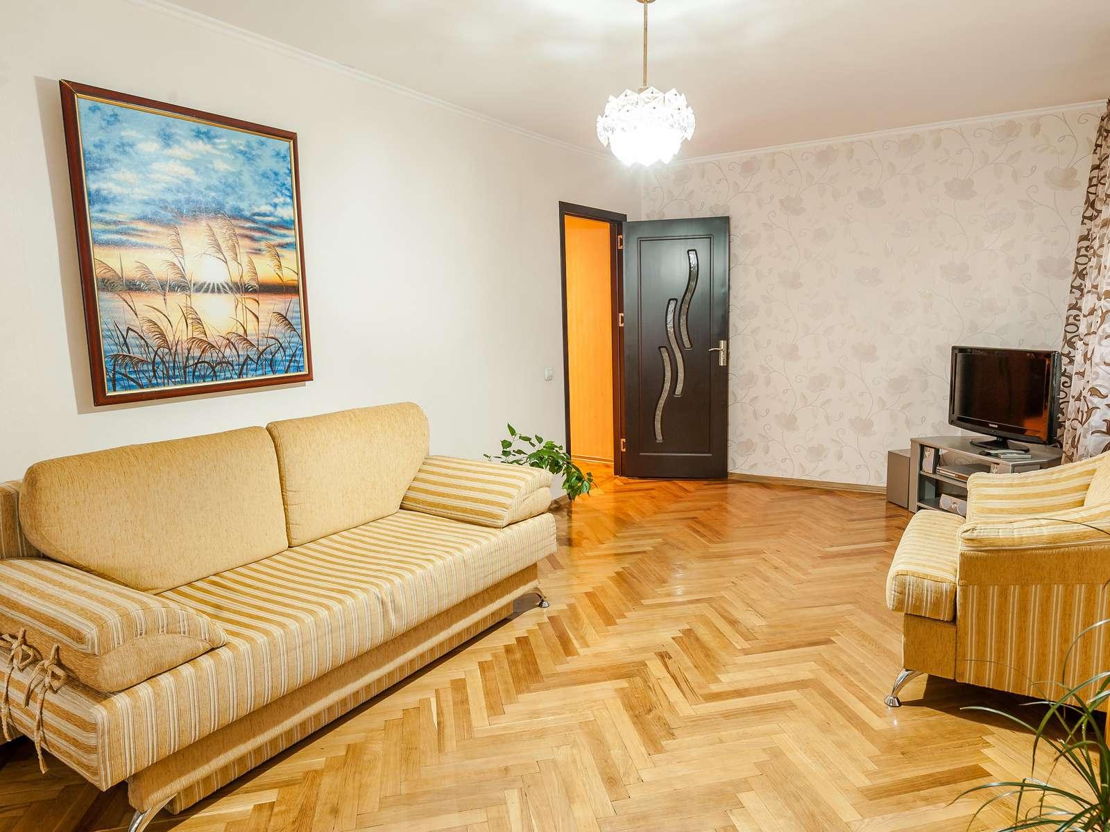 Apartamentul de pe strada Pietonala din Chișinău