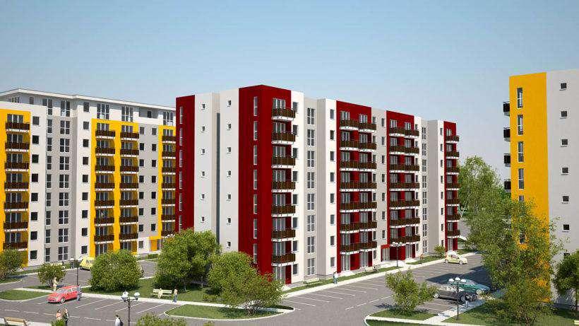 Recordul anului 2017 pe piața imobiliară din Republica Moldova: câte apartamente s-au dat în exploatare?