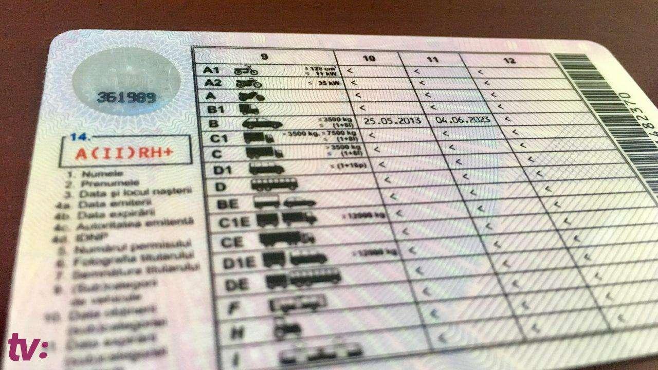 Șoferii din Republica Moldova pot solicita permis de conducere internațional. Agenția de Servicii Publice a început deja să primească cereri.