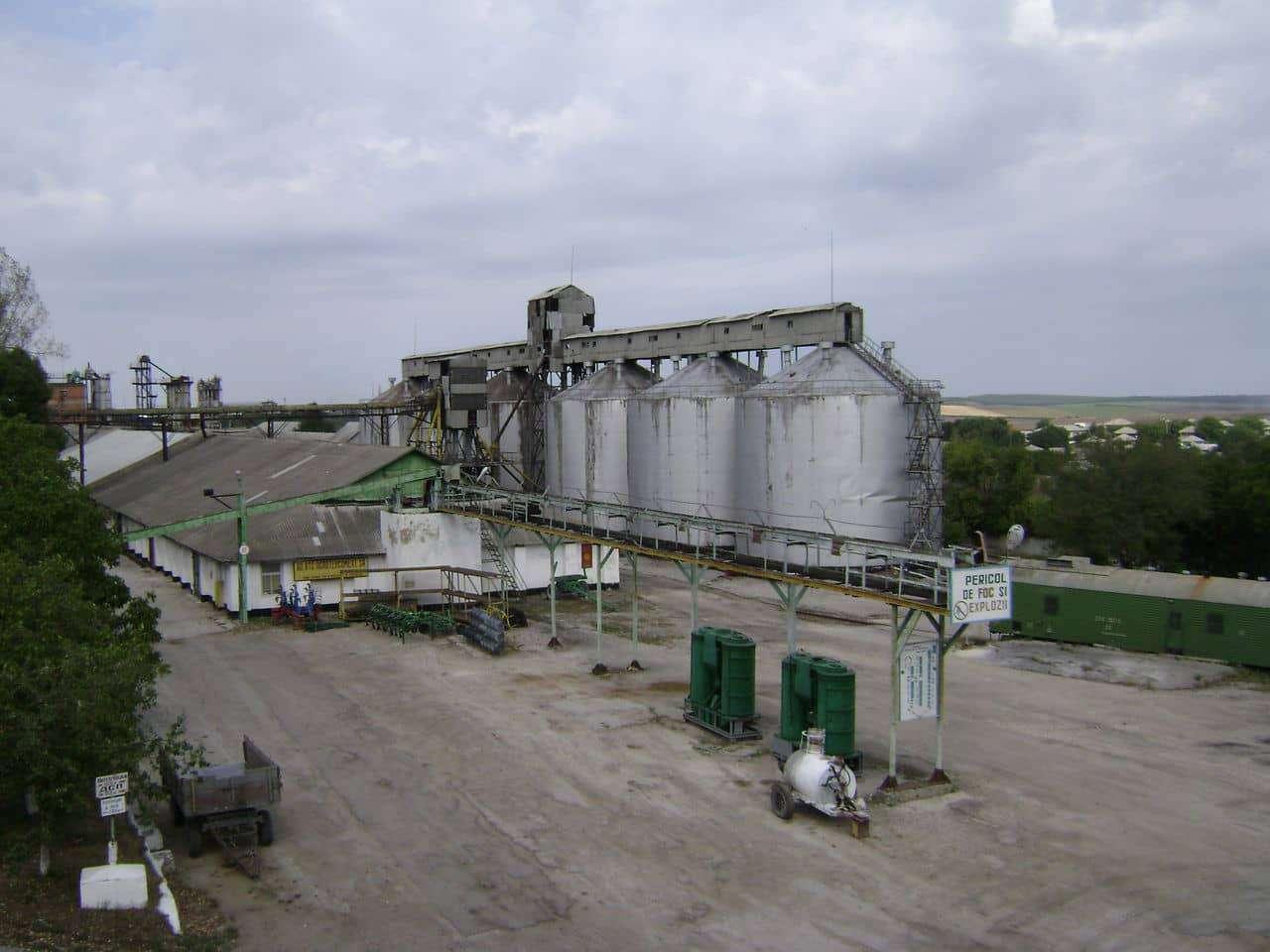 Întreprindere pentru producerea și depozitarea cerealelor
